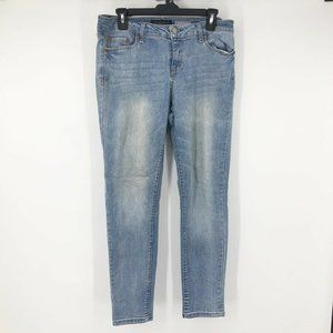 Aeropostale Womens Sz 12 Distressed Jegging Jeans